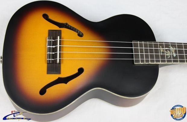 kala ka jte 2ts archtop tenor electric ukulele tobacco sunburst new 12684 reverb. Black Bedroom Furniture Sets. Home Design Ideas