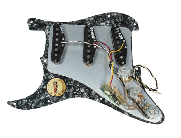 Fender    Tex   Mex 920D Loaded Prewired Strat Pickguard BPWH   Reverb
