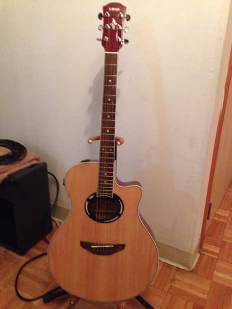 Yamaha apx500 acoustic electeuc guitar 2006 gloss spruce for Yamaha fg830 specs