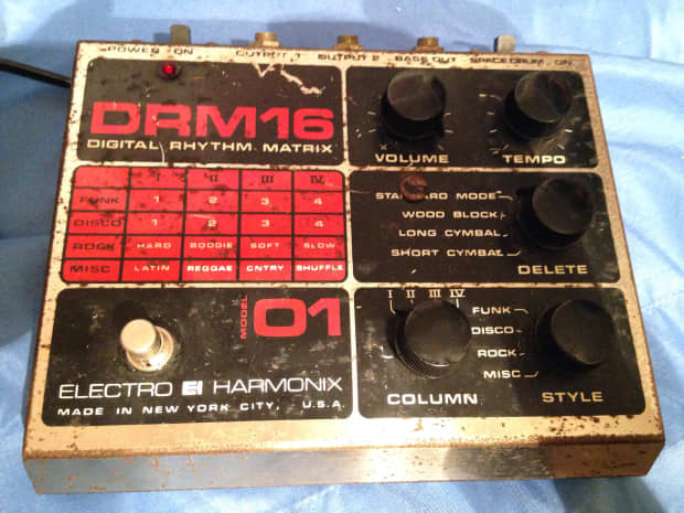 electro harmonix drum machine