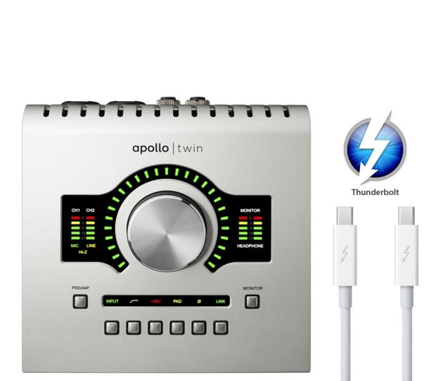 uad apollo twin duo thunderbolt w 17 plugins and 2m cable reverb. Black Bedroom Furniture Sets. Home Design Ideas