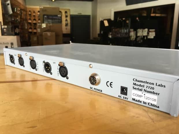 chameleon labs 7720 stereo bus compressor reverb. Black Bedroom Furniture Sets. Home Design Ideas