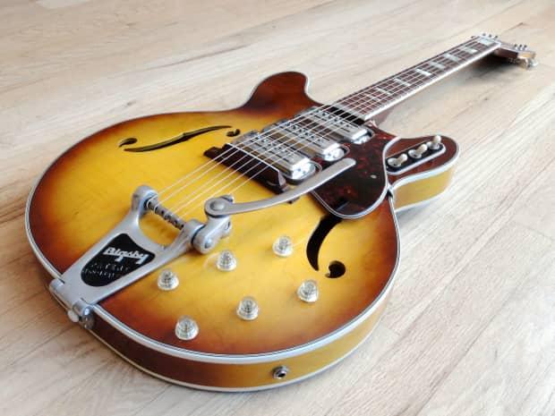 1966 harmony h 76 vintage electric guitar near mint w reverb. Black Bedroom Furniture Sets. Home Design Ideas