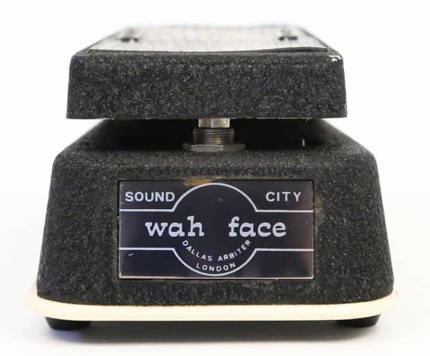 1969 Sound City Dallas Arbiter Wah Face Pedal Super