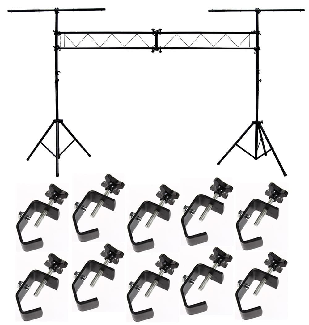 Dj pro audio light trussing 10 foot portable truss for Truss package cost