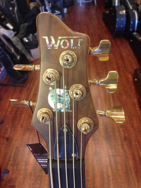 wolf 5 strings bass guitar namm2015 walnutmaplerealwood solid reverb. Black Bedroom Furniture Sets. Home Design Ideas