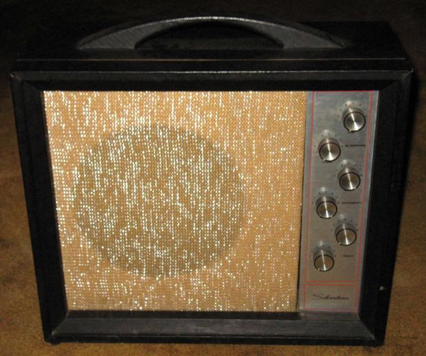 sears silvertone 1472 electric guitar amplifier w cover vintage 60 39 s reverb. Black Bedroom Furniture Sets. Home Design Ideas