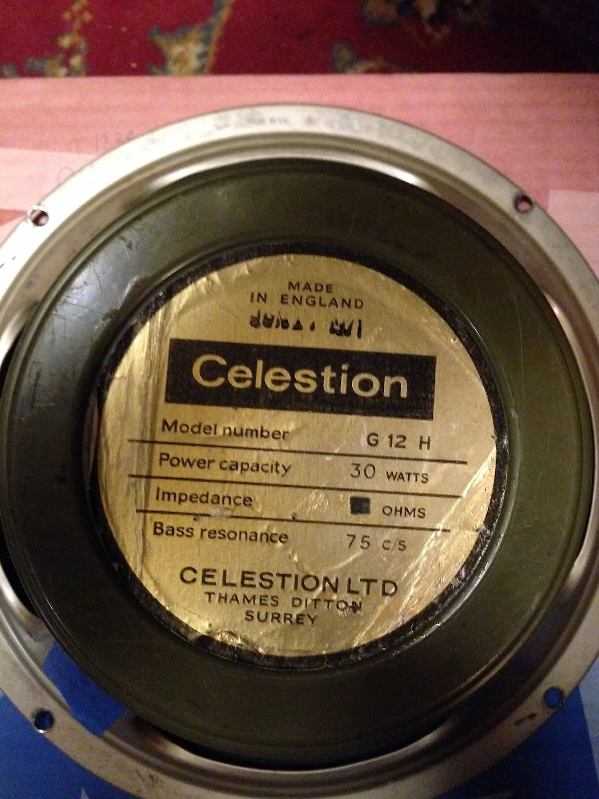 celestion speakers dating Yearly until 1979 the theory is verified by inspection tags, speaker date codes and capacitor date codes dating celestion speakers dating eminence.