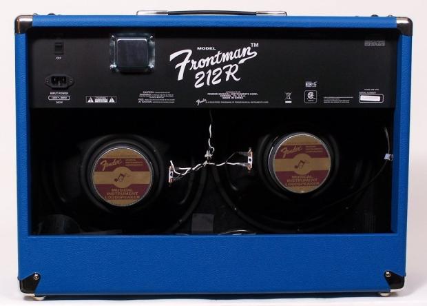 fender fsr frontman 212r 100w 2 x 12 combo amp limited edition cobalt blue reverb. Black Bedroom Furniture Sets. Home Design Ideas