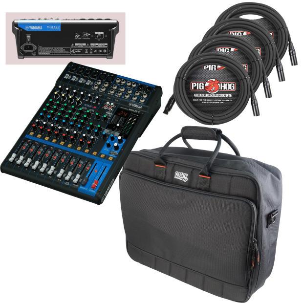 Yamaha mg12xu essentials bundle includes bag pro for Yamaha mg12 case