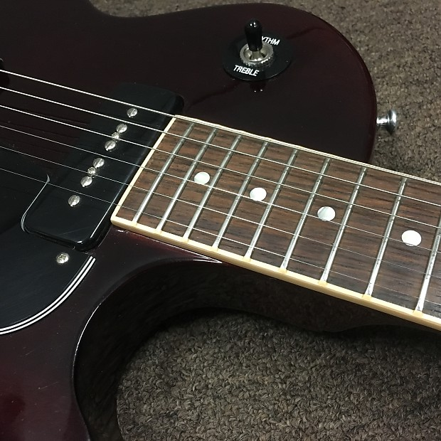 gibson les paul jr special 2010 cherry gloss lacquer
