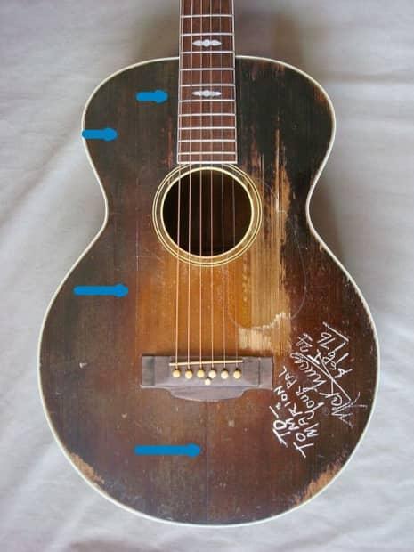 Gibson guitarra dick lucas