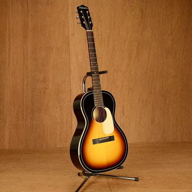 Silvertone 604AVS Parlor Guitar Vintage Sunburst | Reverb