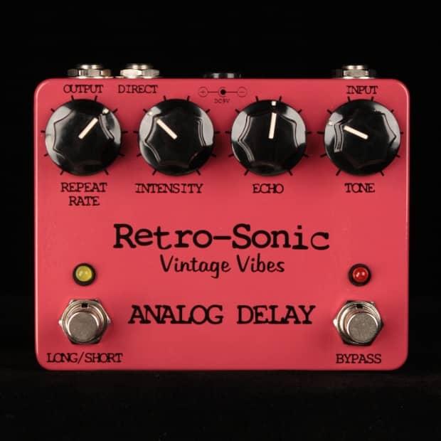Retro Sonic Analog Delay Pedal Reverb