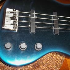 Fender Jazz Bass Plus 1990 Blue Burst image
