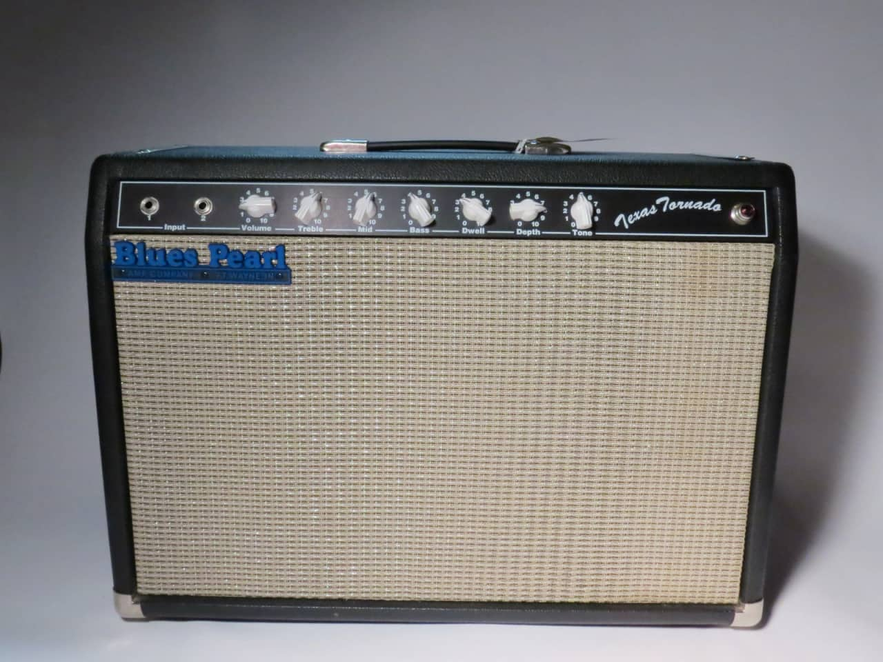 Blues Pearl Texas Tornado Amp In Great Pristine Condition ...