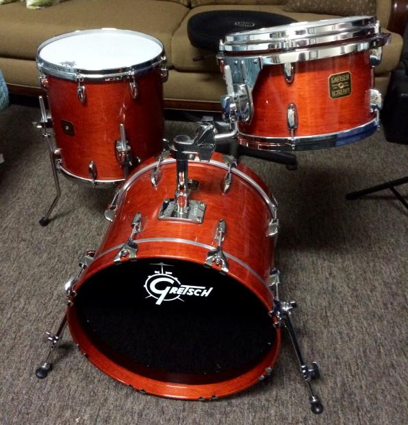 Gretsch Usa Custom 2008 Burnt Orange Reverb