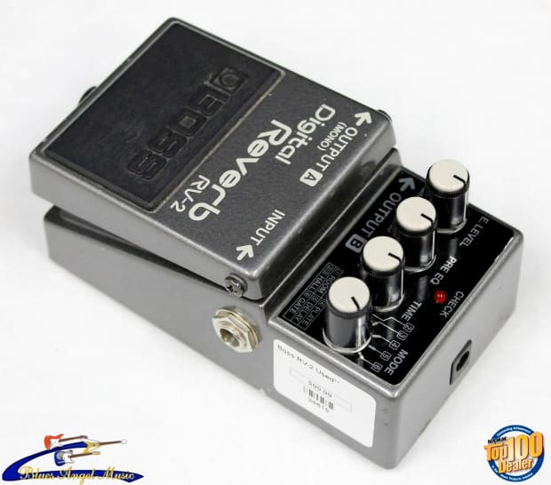Best Reverb Delay Pedal : 1987 boss rv 2 digital reverb pedal w delay made in japan reverb ~ Vivirlamusica.com Haus und Dekorationen