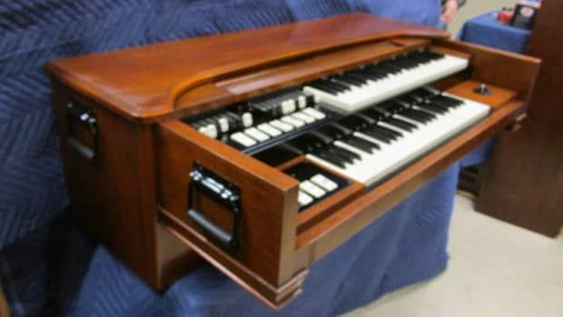 vintage hammond m3 organ b3 sound chop for portable use reverb. Black Bedroom Furniture Sets. Home Design Ideas
