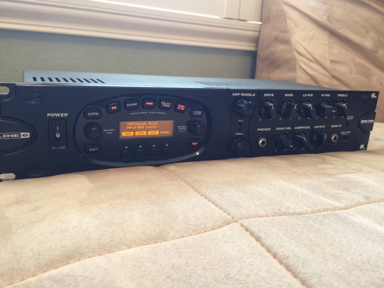 line 6 bass pod xt pro rackmount w manual reverb. Black Bedroom Furniture Sets. Home Design Ideas