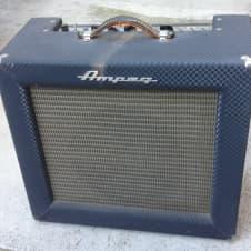 1964 Ampeg Reverberocket R-12-R Tube Amp Vintage Jensen C12Q Speaker image