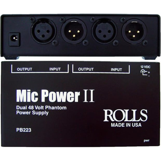 how to change mic to 48v