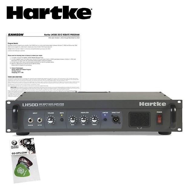 hartke lh500 500 watt bass guitar amplifier head amp kit w reverb. Black Bedroom Furniture Sets. Home Design Ideas