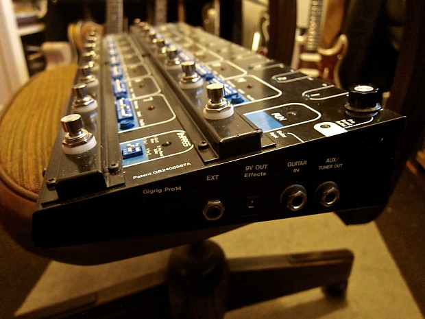 Gigrig Pro Midi 14 Guitar Effects Pedal Switching System