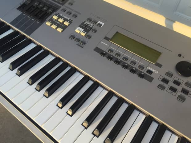 yamaha motif 8 88 key keyboard synth weighted keys near reverb. Black Bedroom Furniture Sets. Home Design Ideas