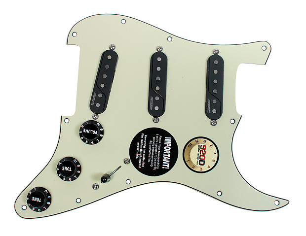 pre wired fishman fluence loaded pickguard for fender strat reverb. Black Bedroom Furniture Sets. Home Design Ideas