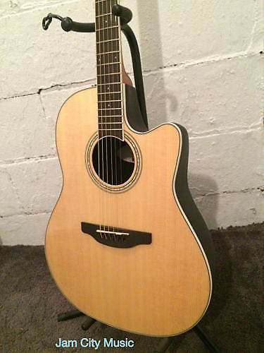 Ovation Applause Balladeer Acoustic-electric Guitar Review ...
