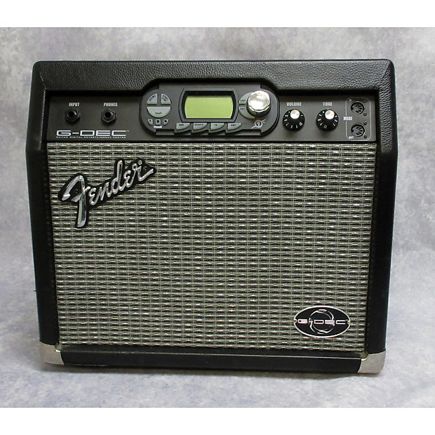Fender G Dec 15 Watt Guitar Combo Amp Black Reverb