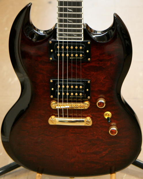 epiphone sg prophecy custom gx electric guitar with dirty reverb. Black Bedroom Furniture Sets. Home Design Ideas