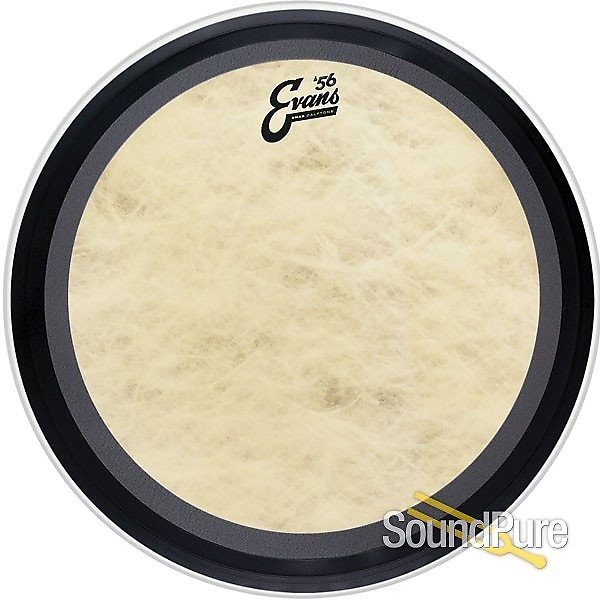 evans 22 emad calftone bass drum head reverb. Black Bedroom Furniture Sets. Home Design Ideas