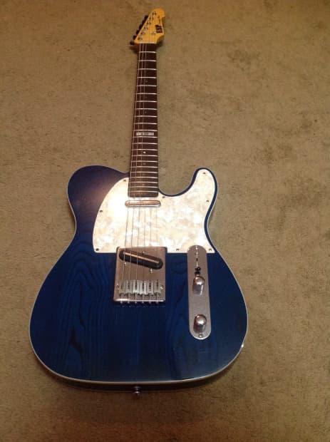 esp vintage plus telecaster style custom shop guitar reverb. Black Bedroom Furniture Sets. Home Design Ideas