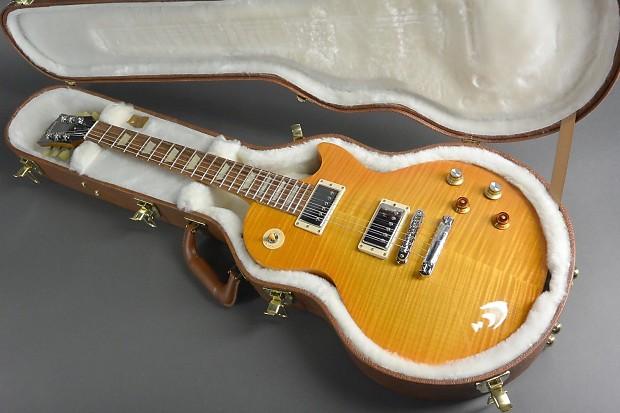 Gibson gary moore tribute les paul electric guitar lemon - Gibson gary moore ...