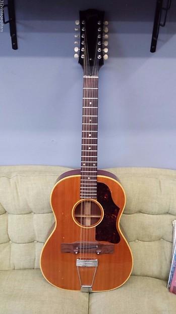 1965 gibson b 25 12 n 12 string acoustic guitar vintage reverb. Black Bedroom Furniture Sets. Home Design Ideas