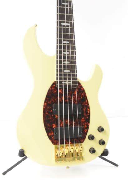 yamaha bb5000a 5 string electric bass guitar white w ohsc reverb. Black Bedroom Furniture Sets. Home Design Ideas