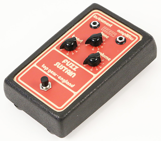 1979 top gear fuzz sustain very rare top gear of england reverb. Black Bedroom Furniture Sets. Home Design Ideas