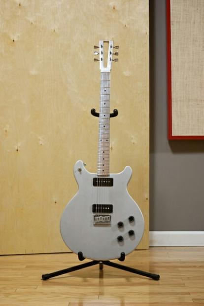egc electrical guitar company standard 2007 ish brushed polished aluminum reverb. Black Bedroom Furniture Sets. Home Design Ideas