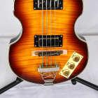 Epiphone Viola Violin Beatle Bass 4-String Electric Short Scale Bass 2011 Sunburst image