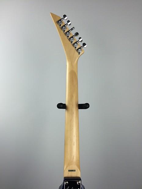 jackson rx10d rhoads v electric guitar cobalt blue swirl reverb. Black Bedroom Furniture Sets. Home Design Ideas