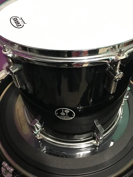 Sonor phil rudd black drum kit reduced reverb for 18x18 floor tom