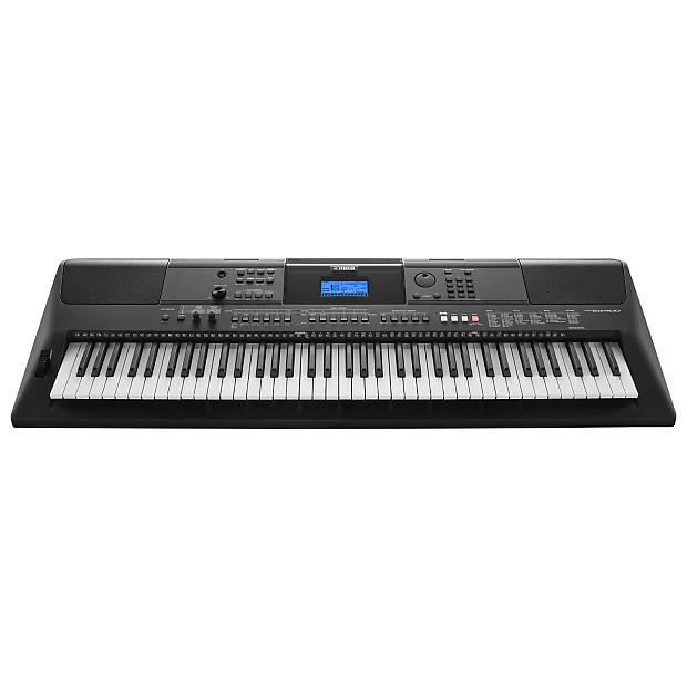yamaha psr ew400 76 key portable arranger keyboard reverb