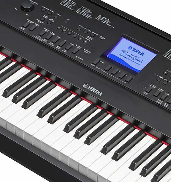 yamaha dgx 660 2016 88 key digital piano black reverb. Black Bedroom Furniture Sets. Home Design Ideas