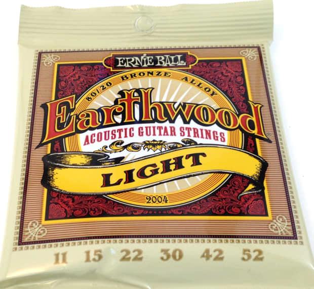 ernie ball guitar strings acoustic earthwood light reverb. Black Bedroom Furniture Sets. Home Design Ideas