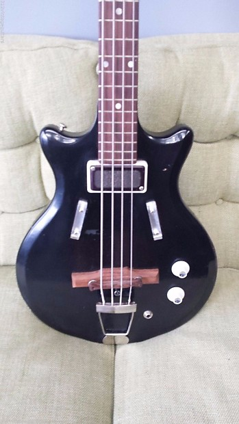 1966 supro s488b pocket bass electric guitar vintage valco reverb. Black Bedroom Furniture Sets. Home Design Ideas