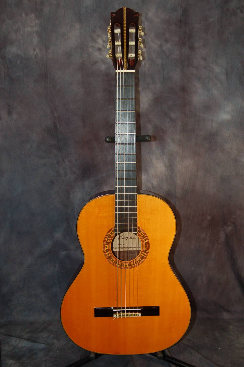 kingston model c 70 classical guitar 1970 39 s natural original reverb. Black Bedroom Furniture Sets. Home Design Ideas