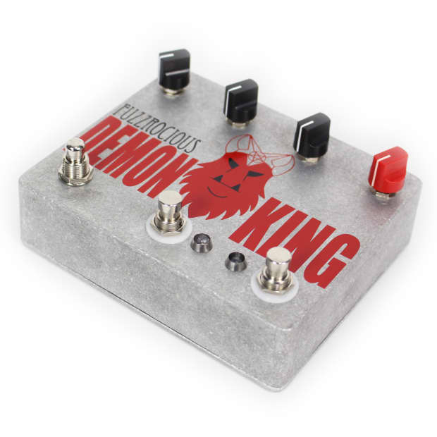fuzzrocious pedals demon king dual overdrive pedal reverb. Black Bedroom Furniture Sets. Home Design Ideas