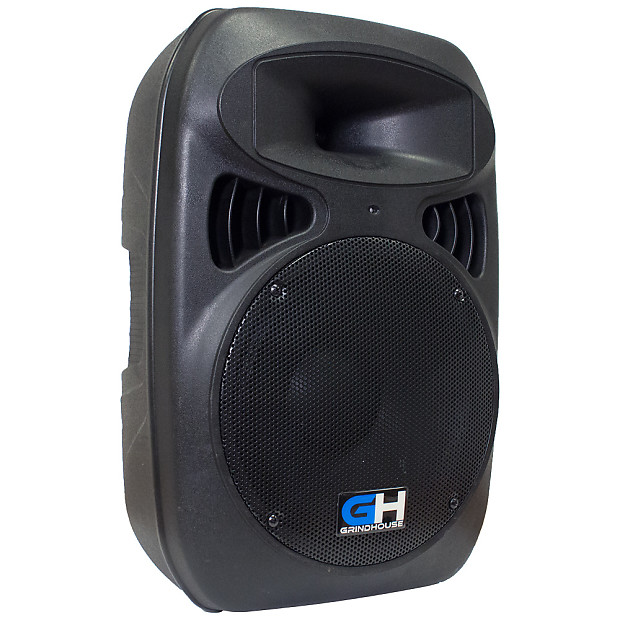 1000w Inch Active Powered Full Range PA Speaker Home DJ ...